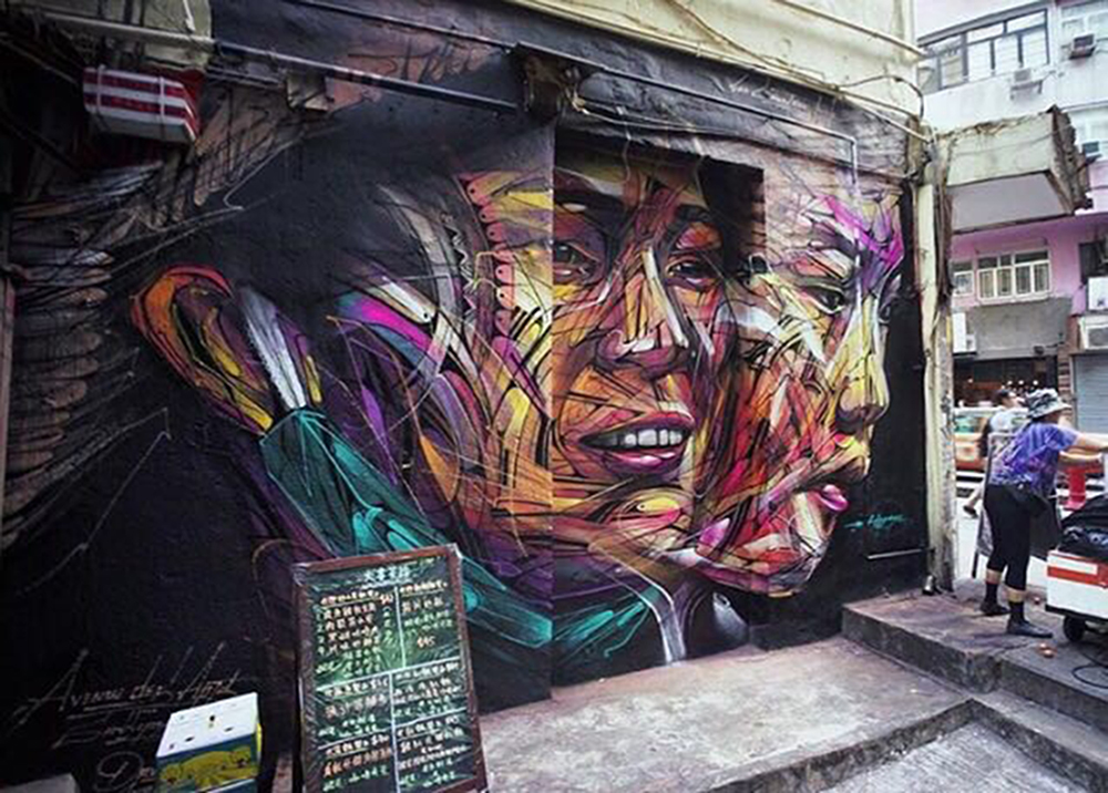 Hopare, La Cantoche, Hollywood Road, October 2016